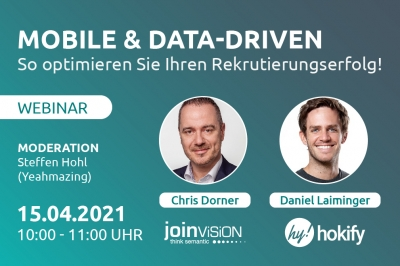 Mobile & Data-Driven - so optimieren Sie Ihren Rekrutierungserfolg!