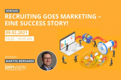 Recruiting goes Marketing – eine Success Story!