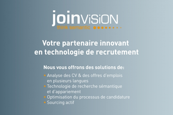 JoinVision as exhibitor in Paris