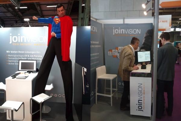 JoinVision at two Recruiting Fairs